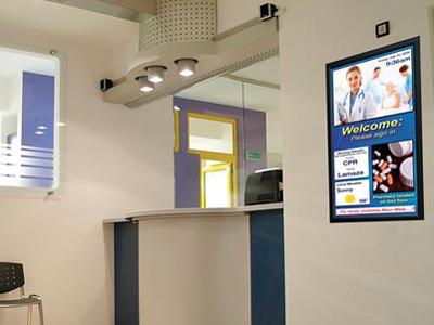 màn hình chuyên dụng cho bệnh viện
