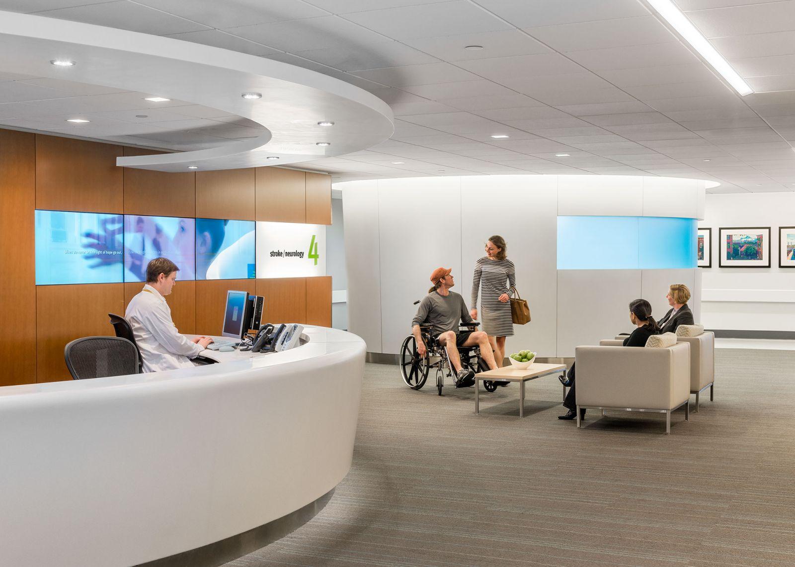 màn hình hiển thị kỹ thuật số chuyên dụng cho bệnh viện và trung tâm y tế