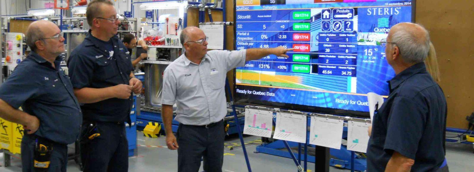 màn hình chuyên dụng dùng trong sản xuất